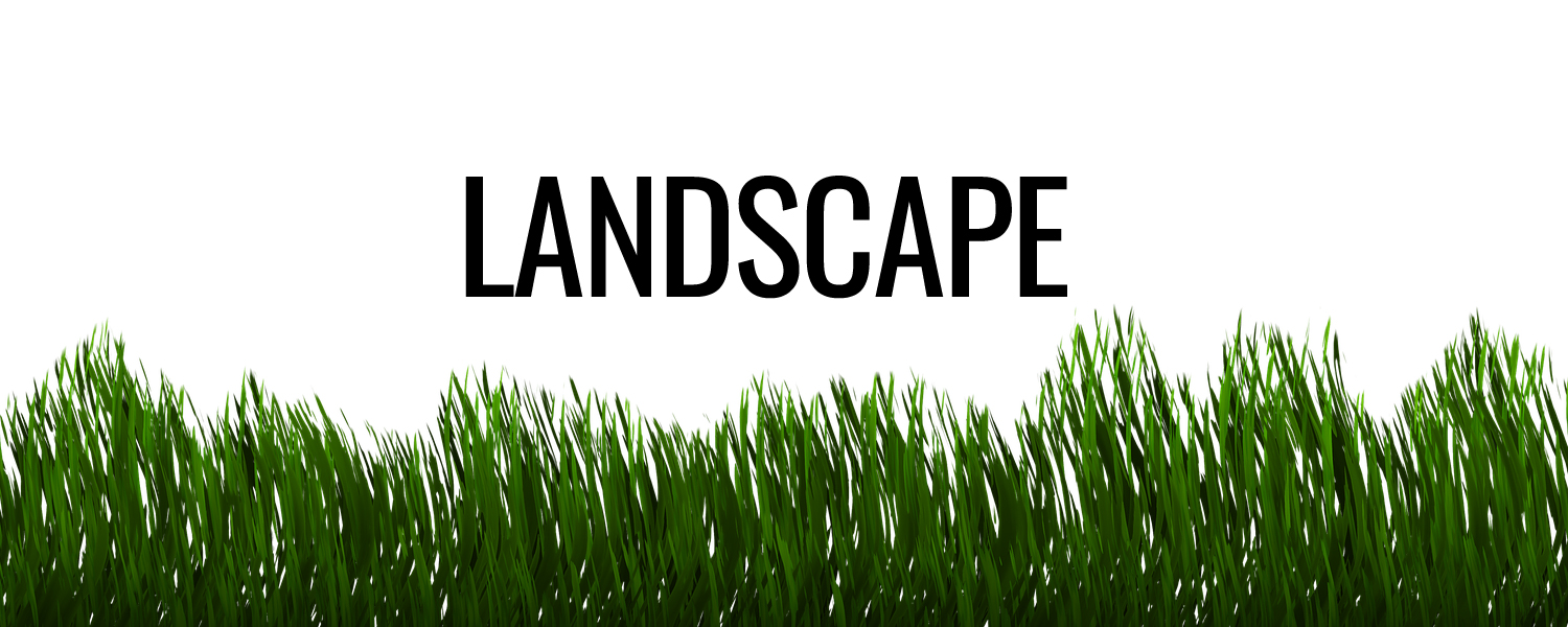 landscape, landscaping, lawncare