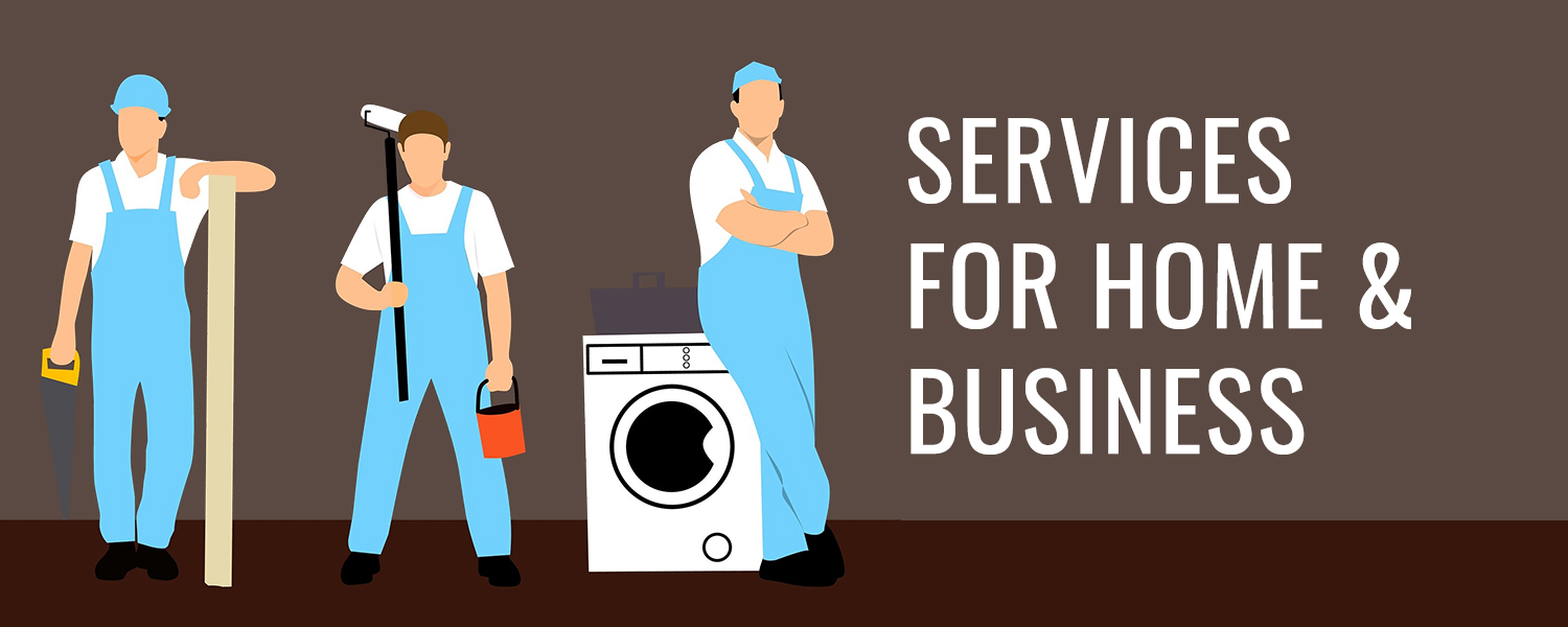 services for home and businesses, handyman